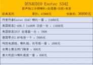 丹拿 Esotec S342(二)